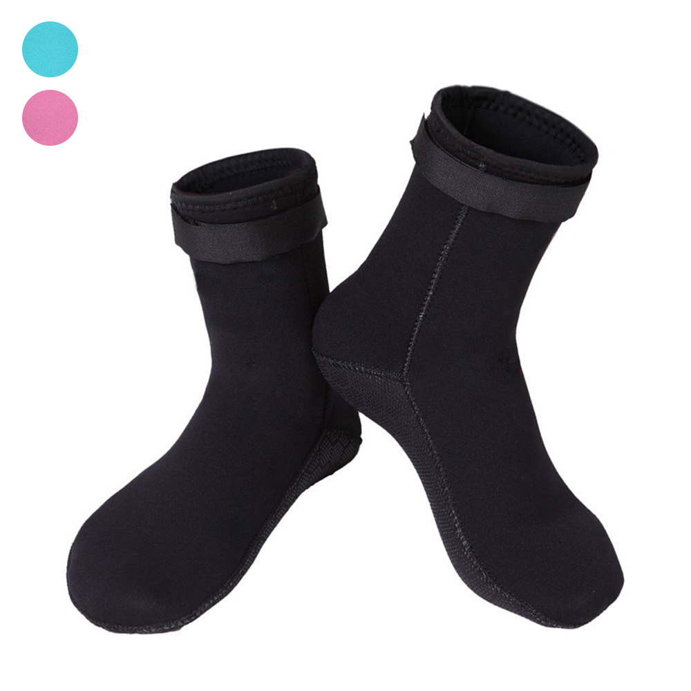 1 Pair Wetsuits Swimming Diving Socks Neoprene 3mm Neoprene Anti Slip Water Socks B2Cshop ...