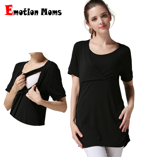 ce308dcd284 Emotion Moms Summer maternity clothes maternity tops breastfeeding clothes  for pregnant women breastfeeding T-Shirt nursing tops