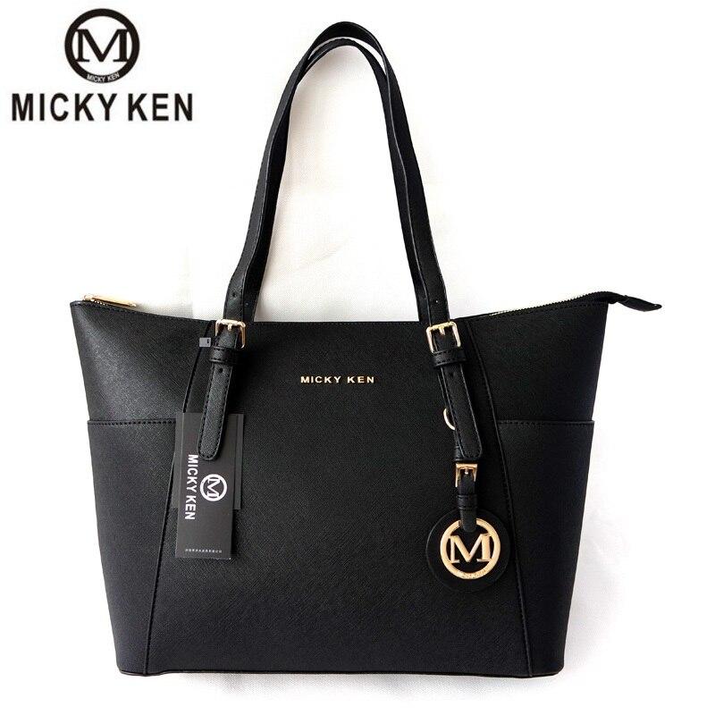 MICKY KEN bolsa feminina 2018 women handbags big pu leather high quality letter female bag designer bolsos mujer sac a main tote