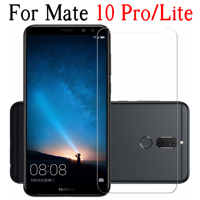 For Huawei Mate 10 Pro Protective Glass For Huawei Mate 10 Lite Screen Protector Protection On Mate10 Light Film Tempered Glas