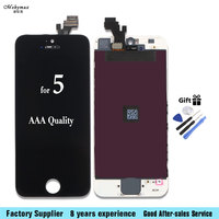Mobymax LCD Display For IPhone 5 LCD Touch Screen Digitizer Lcd Display Replacement Assembly A1428 A1429