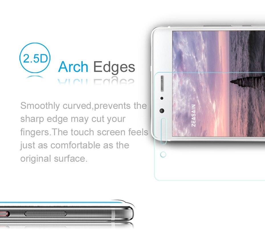[2 փաթեթ] Բնօրինակ ZEASAIN 2.5D 0.3 մմ HD մաքուր - Բջջային հեռախոսի պարագաներ և պահեստամասեր - Լուսանկար 3