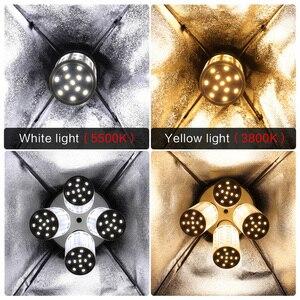 Image 5 - Led 높은 밝은 사진 옥수수 조명 전구 e27 자료 흰색 노란색 빛 softbox 사진 사진 비디오 스튜디오