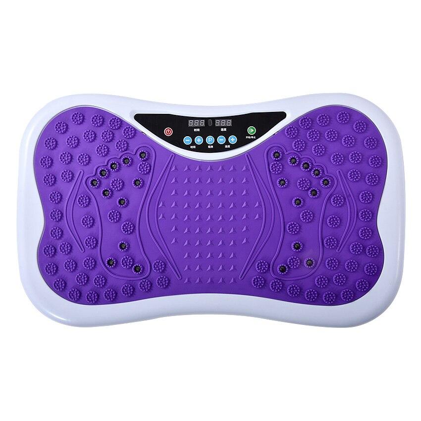 купить 1005F Fitness Equipment Ultrathin Body Massager Power Board Exercise Power Plate For Slimming Blood Circulaation Machine 220V по цене 6459.76 рублей