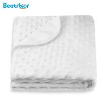 Retail 2017 Baby Blanket for Newborns Thermal Soft Fleece Blankets Baby Boy Girl Sleeping Warp Swaddling Bedding Set Anais Bt-03