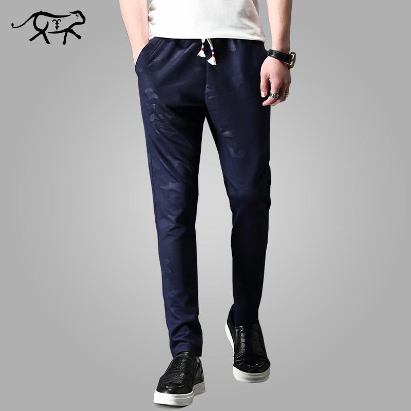 New Arrival Camouflage Pants Fashion Men Pants Long Mens Trousers Slim Pencial Pants Spring Autumn Pantalon Homme Size M-4XL