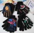 Осенью и Зимой мужчин и женщин сгущать тепловые теплые вязаные перчатки мальчик и девушки двойной слой детские спортивные перчатки