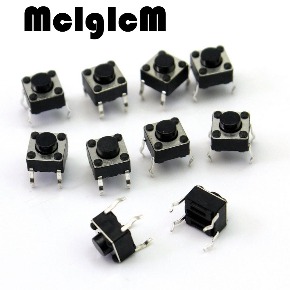 H013-11 200pcs Mini Micro Momentary Tactile Push Button Switch 6*6*5mm 4 pin ON/OFF keys button DIP 6*6*5 5pcs lot high quality 2 pin snap in on off position snap boat button switch 12v 110v 250v t1405 p0 5