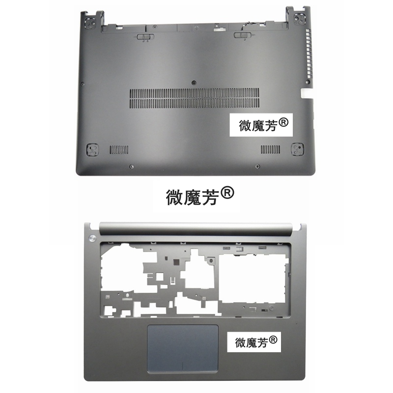 NEW FOR Lenovo FOR Ideapad S400 S405 S410 S415 C Shell Keyboard Bezel Palmrest Cover Without Touchpad &Bottom Case silver цена