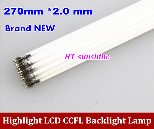20PCS Brand NEW CCFL 270mm * 2.0 mm 12.1 Wide LCD Backlight Lamp 268mm 270mm CCFL lamp ...