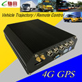 Factory direct sale 4ch hdd car video recorder GPS/4G bus HD monitor MDVR CMSV6 remote control   dvr