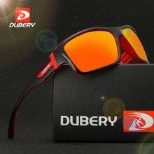 DUBERY Polarized Sunglasses Men's Vintage Driving Shades Colorful Eyeglasses Sunglasses Fashion Brand Mga salaming pang-ara