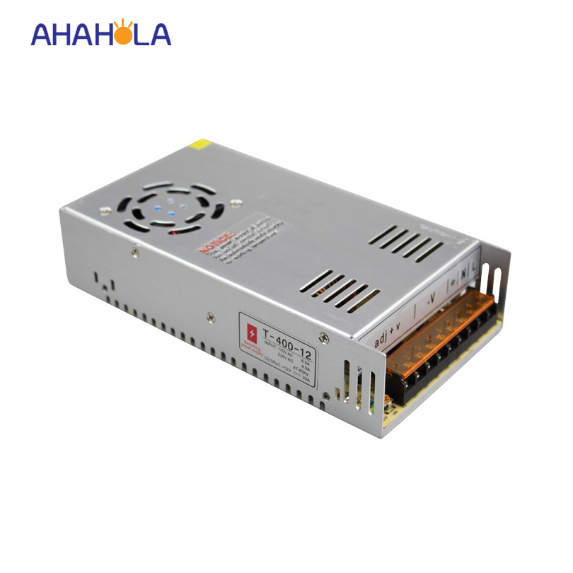 ac 110v 220v voltage transformer  switching power supply to dc 12v 24v power supply 400w meanwell 12v 350w ul certificated nes series switching power supply 85 264v ac to 12v dc