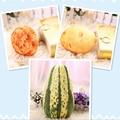 3 Styles Creative Plush Pendant with Key Chain Simulation Potato, Melon, Mushroom Plush Pillow Kids Toy Doll Gift