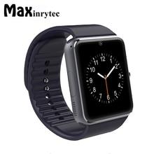Maxinrytec A1 Smart Watch Clock Sync Notifier Support SIM TF Card Connectivity untuk Samsung Apple iphone Android Smartwatch Telefon Telefon