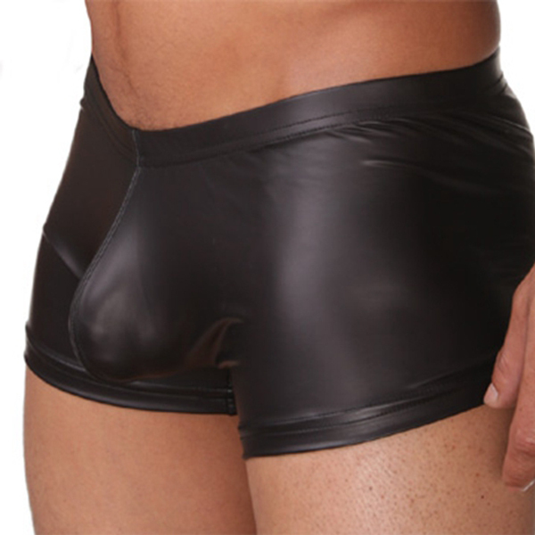 Aliexpress.com : Buy Brand PU Men's Sexy Boxers Underwear ! N2N ...