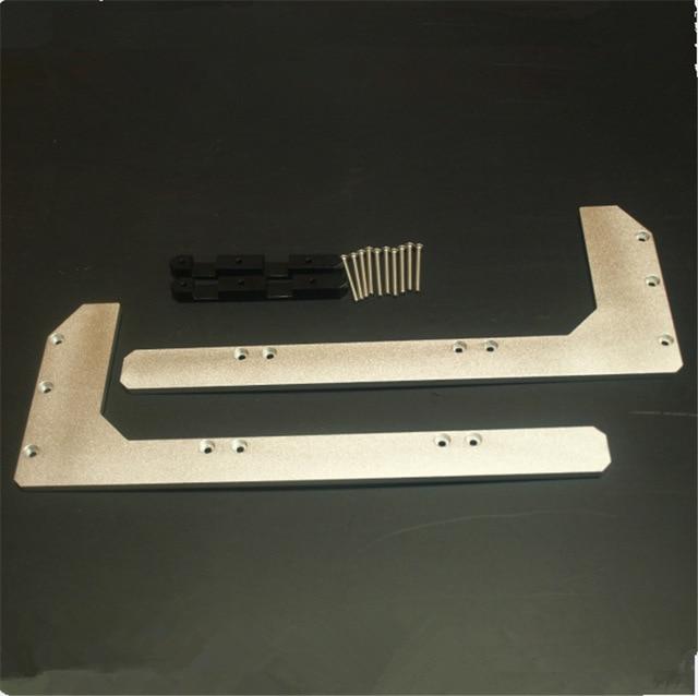 Replicator 2 Aluminum Arm Stiffeners strong Aluminium arm  replicator CTC Wanhao FlashForge 3D printer parts