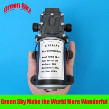 145PSI 6L/Min 24V DC 80W return valve type mini diaphragm pump 6l min 24v dc 80w return valve type pump diaphragm