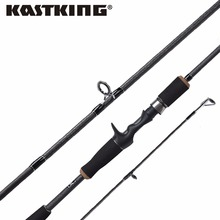 KastKing Perigee 1.98M/2.10M 2 Tip Baitcasting Fishing Rod MF & MH Actions 7-14g Lure Weight Casting Lure Fishing Rod