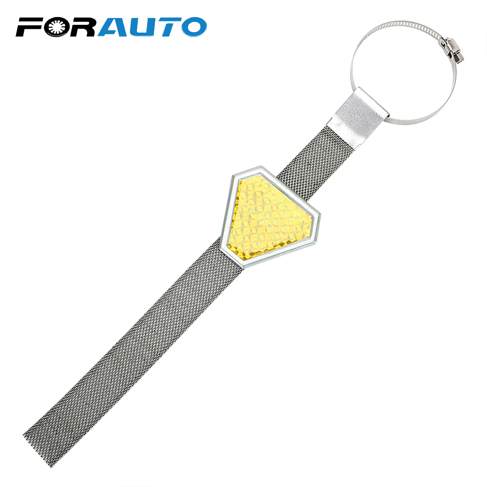 FORAUTO Antistatic Belt With Reflective Strips Electrostatic Avoid Traffic Accident CarStyling Auto Suplies Exterior Accessories