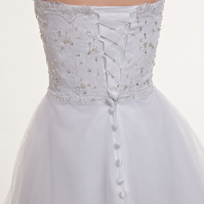 Ready to shop Simple Wedding Dresses cheap Bridal Gowns Appliques A ...