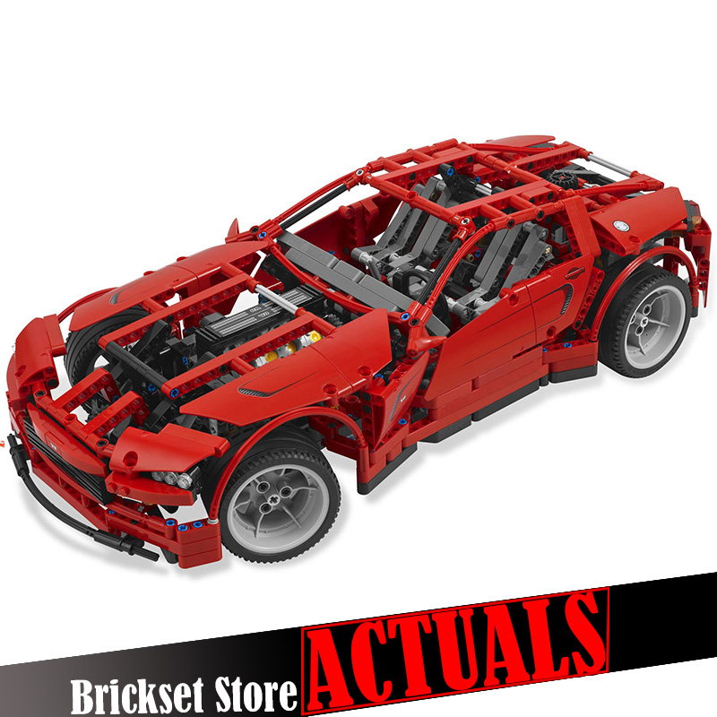 LEPIN 20028 Super Car Technical Model Building Blocks Bricks Toys DIY For Children gifts 1281PCS Compatible with legoINGly 8070 new diy model technical robot toys large particle building blocks kids figures toy for children bricks compatible lepins gifts
