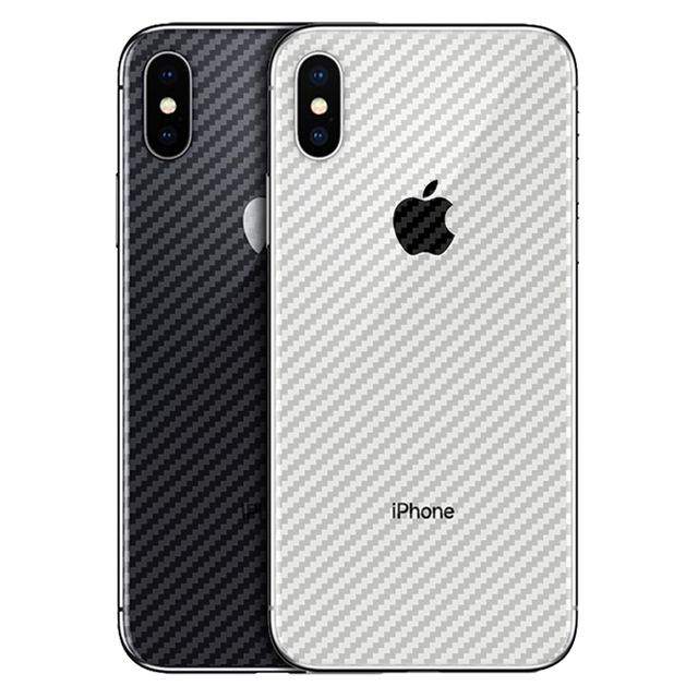 new concept cf075 e01aa US $0.48 40% OFF|For apple iPhone XS Max XR Carbon Fiber Soft Back Screen  Protector Sticker Film full cover For iphone X 10 7 8 9 6 6S Plus -in Phone  ...