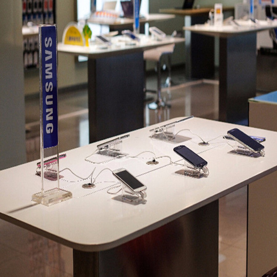 smartphone anti theft display system Retail security devices