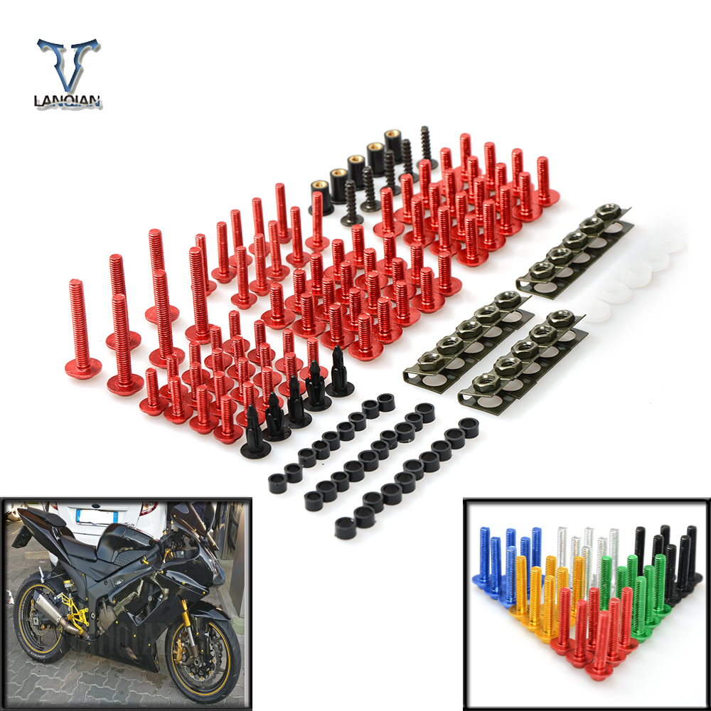 Motorcycle Accessories Fairing windshield Body Work Bolts Nuts Screw For Yamaha XJ6/DIVERSION XJR 1300/Racer XSR 700 900/ABS