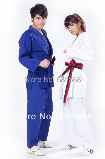 Jiu Jitsu100% Coton Judo Gi International Standard Uniforme d'Arts - Fitness et musculation