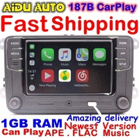 RCD330 Plus CarPlay Radio 1GB RAM For VW Golf Jetta MK5 MK6 CC Tiguan Passat B6