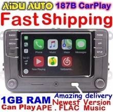 Rcd330 плюс CarPlay Радио 1 ГБ Оперативная память для VW Гольф 5 6 Jetta MK5 MK6 CC Tiguan Passat Мужские поло 6rd 035 187 B 6rd035187b RCD510 rcn210