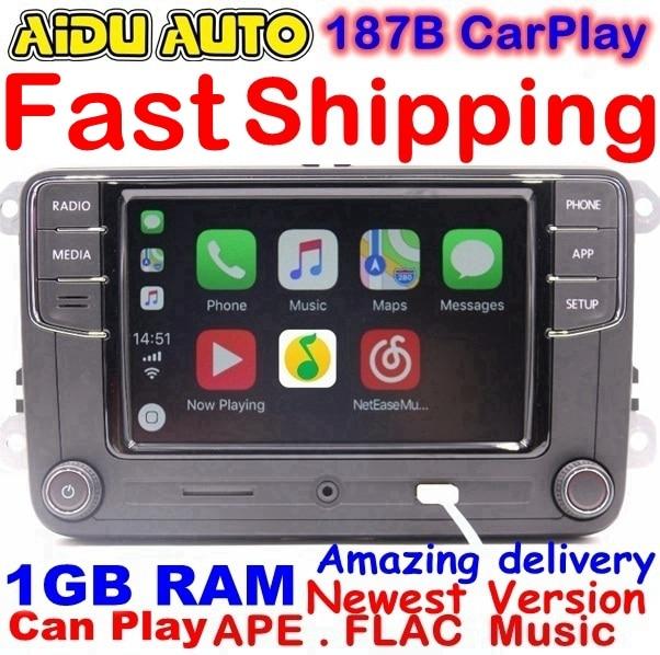 RCD330 más RCD330G Carplay MIB Radio para VW Golf 5 6 Jetta MK5 MK6 CC Tiguan Passat B6 B7 Polo touran 6RD035187B Mirrorlink 1 GB