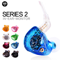 The Fragrant Zither TFZ Series 2 S2 NoMic HIFI In Ear Studio Monitor Earphones Professional Custom Made sport Stereo for Running