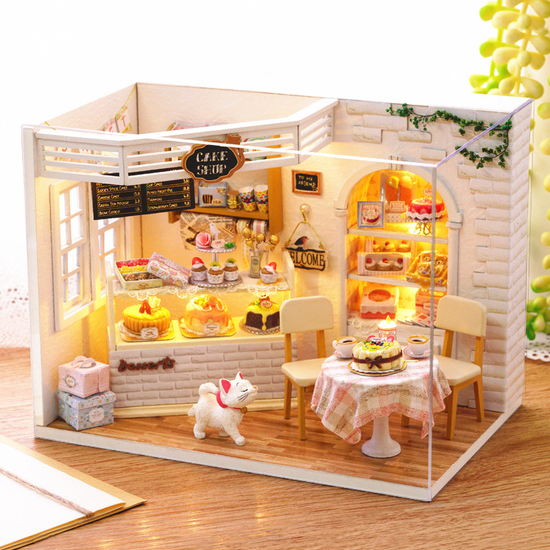 Sylvanian Families Dollhouse Miniatures Accessories Diy Cake Diary