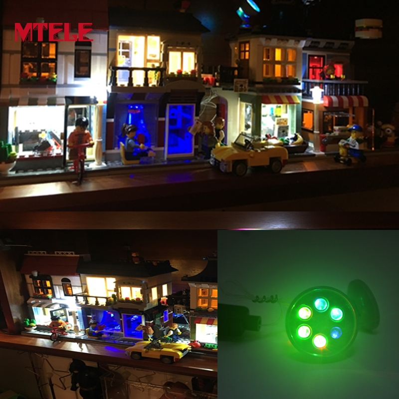 MTELE Brand 1 Piece LED Lights Fargerike Lysemitterende Kids Leker For Barn Gaver