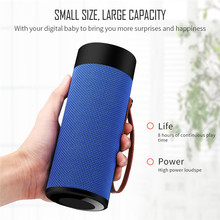 ФОТО reroductor bluetooth speakers with waterproof subwoofer support tf audio system outdoor speaker climbing traveling soundbar