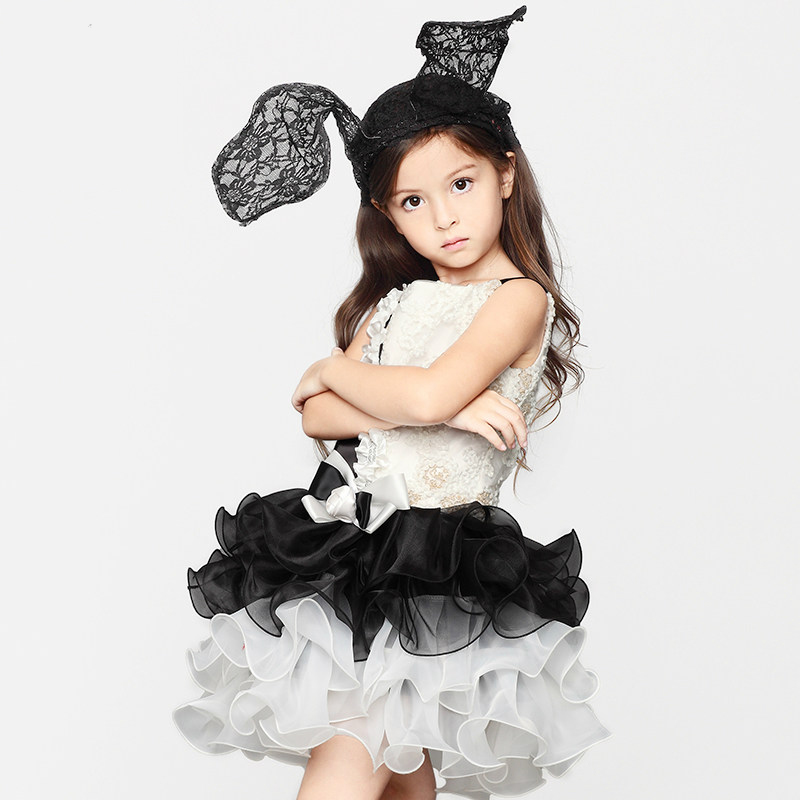 Girls Perfermance Costumes Evening Frock Dress For 2 3 4 5 6 7 8 9 10 11 12 Years Old Girls Party Princess Dress Girls Birthday