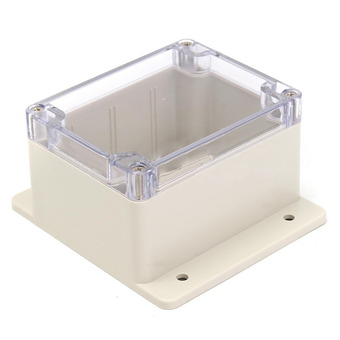 Waterproof Plastic Electronic Junction Project Box Enclosure Case 115x90x68mm 1pc 85 85 50mm waterproof electronic outdoor enclosure project pcb diy junction box abs plastic case electrical connector