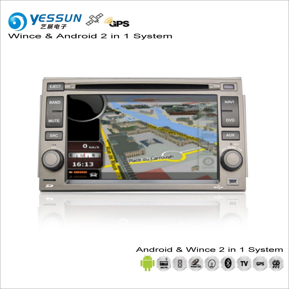 все цены на YESSUN For Hyundai Azera / Grandeur 2005~2010 Car Android Multimedia Radio CD DVD Player GPS Map Navigation Audio Video Stereo онлайн