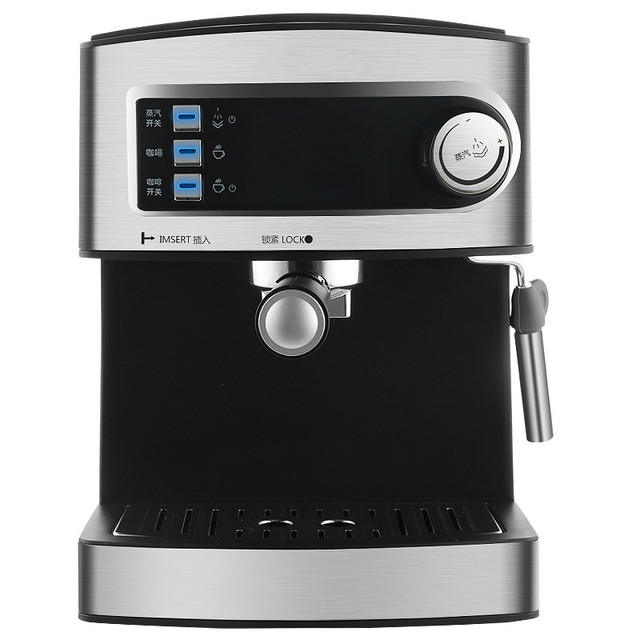 High End The Pressure Coffee Machine 15bar Full Semiautomatic Steam Beating Milk Commercial Use