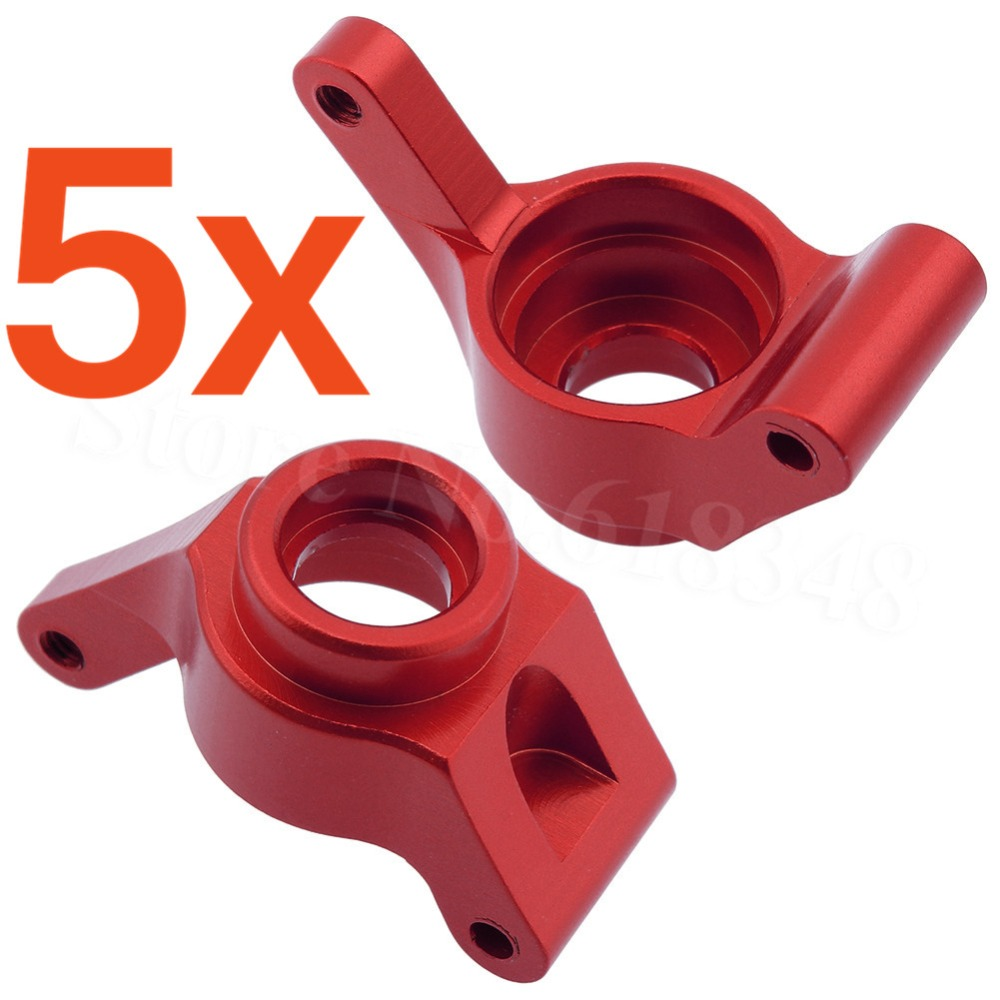 5 Pairs/lot OEM E18XBL Elcetric Himoto 1/18 Upgrade Parts Spino Buggy Aluminum Rear Upright (L/R) (Al.) M604 Metal Wholesale