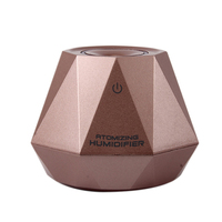 Usb Operated Draagbare Reizen 180Ml Mini Diamond Shape Luchtbevochtiger Diamant Vormige Licht Gewicht Voor Trip Auto Thuis Effen gemakkelijk