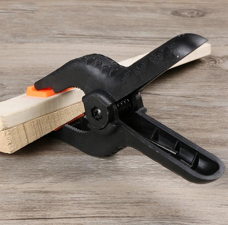 1 Pc Schwarz Clamp Kunststoff Nylon Toggle Clamp Diy Werkzeuge Für Holzbearbeitung Für Hintergrund Studio Kamera Eine Hohe Bewunderung Gewinnen