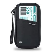 Brand RFID Passport Holder Passport Wallet Family Travel Document Organizer Credit Card Holder Case Passport Bag for Women Men