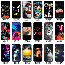 Silicone phone shell Pattern Painted TPU Case for iphone 6 7 8 xs for huawei honor 8x honor 10 nova plus back cover(China)