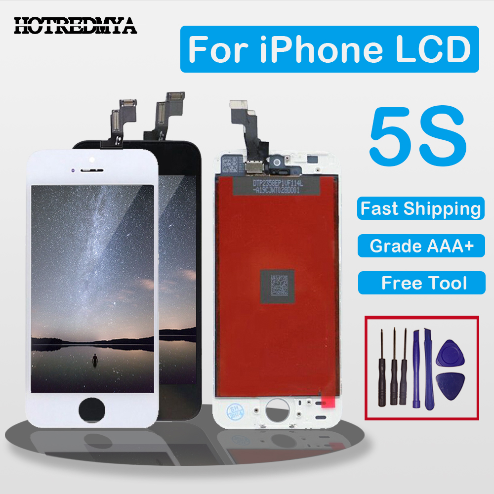 ecran Grade AAA Full Assembly Display For iPhone 5S 5 5C SE LCD Screen For iPhone 6 Display Digitizer Touch Screen No Dead Pixel