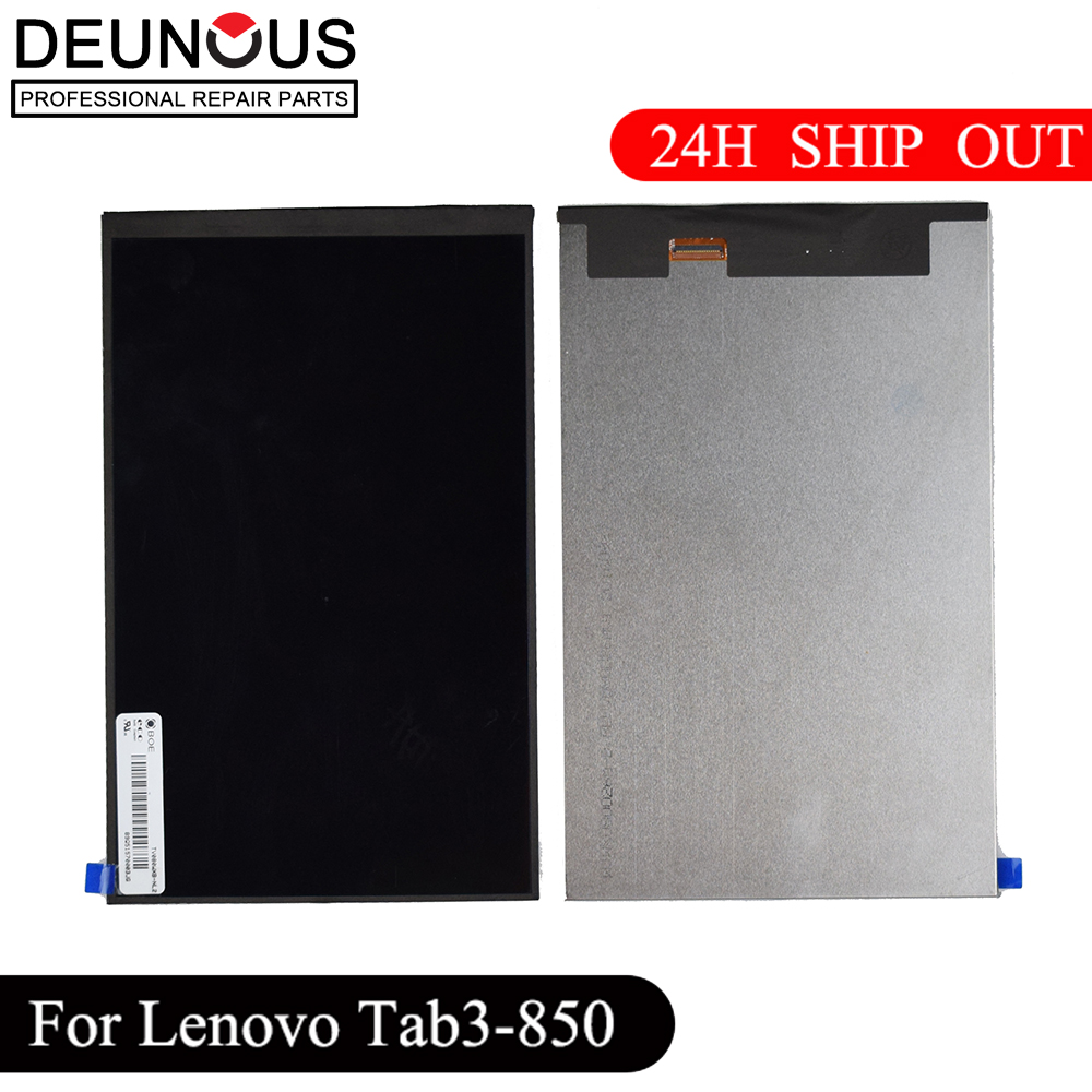 New 8 Inch LCD Display Screen Panel Inner Replacement Parts For Lenovo Tab 3 TAB3 8.0 850 850F 850M TB3-850M TB-850M Tab3-850
