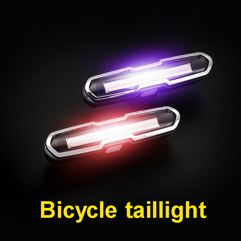 Machfally COB Rear Bike light Taillight Safety Warning USB Rechargeable Tail <font><b>Lamp</b></font> LED Cycling Bicycle Light Waterproof light