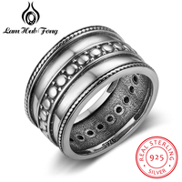 Genuine 925 Sterling Silver Rings for Women 3 Multi Layer Rings Good Christmas Gifts For Friends Support Wholesale&Dropship